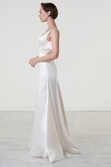 Drexcode - Abito da sposa con cintura di pietre - Iris Noble - Noleggio - 5