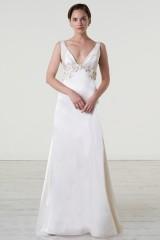 Drexcode - Abito da sposa con cintura di pietre - Iris Noble - Noleggio - 3