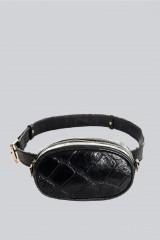 Drexcode - Marsupio clutch pelle nera - AM - Vendita - 2