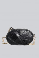 Drexcode - Marsupio clutch pelle nera - AM - Vendita - 1