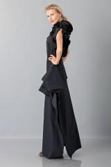 Drexcode - Gonna nera con drappeggio anteriore - Albino - Vendita - 4