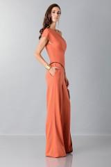 Drexcode - Jumpsuit con drappeggio laterale - Vionnet - Vendita - 4