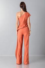 Drexcode - Jumpsuit con drappeggio laterale - Vionnet - Vendita - 2