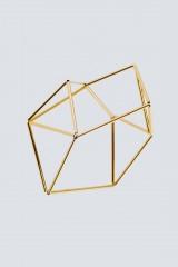Drexcode - Bracciale origami in rodio  - Noshi - Vendita - 1