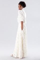 Drexcode - Completo bianco con gonna e maglione in cachemire - Paule Ka - Vendita - 2