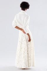 Drexcode - Completo bianco con gonna e maglione in cachemire - Paule Ka - Vendita - 3