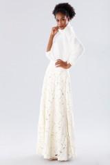 Drexcode - Completo bianco con gonna e maglione in cachemire - Paule Ka - Vendita - 5