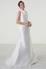 Drexcode - Abito da sposa in magnolia di seta con scollatura asimmetrica - Peter Langner  - Noleggio - 1