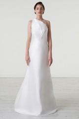 Drexcode - Abito da sposa in magnolia di seta con scollatura asimmetrica - Peter Langner  - Noleggio - 2