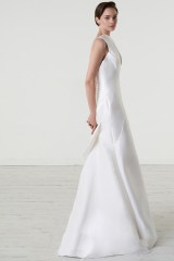 Drexcode - Abito da sposa in magnolia di seta con scollatura asimmetrica - Peter Langner  - Noleggio - 4