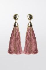 Drexcode - Orecchini in corda oro e rosa - Rosantica - Noleggio - 1