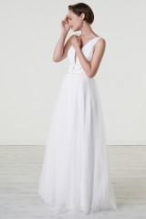 Drexcode - Abito da sposa con cinture di perline - Theia - Noleggio - 1