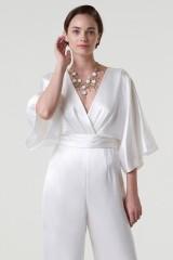 Drexcode - jumpsuit con scollo a V e fascia in vita - Theia - Noleggio - 3