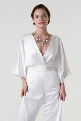 Drexcode - jumpsuit con scollo a V e fascia in vita - Theia - Noleggio - 6