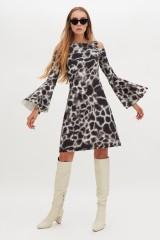Drexcode - Abito con fantasia giraffa - Chiara Boni - Noleggio - 1