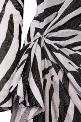 Drexcode - Abito lungo stampa zebra - Redemption - Noleggio - 3