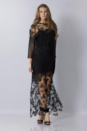 Tunica in seta decorata - Blumarine - Vendita Drexcode - 1