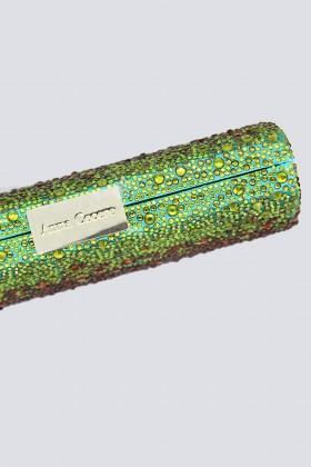 Clutch degrade verde arancio - Anna Cecere - Noleggio Drexcode - 2