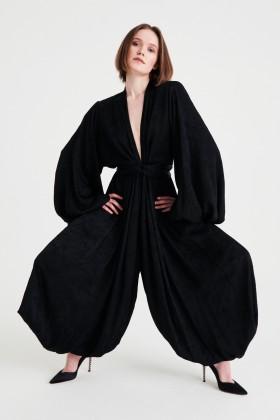 Jumpsuit morbida con scollo profondo - NERVI - Noleggio Drexcode - 1