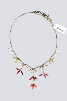 Collana con pendenti di cristallo colorati - Tataborello - Vendita Drexcode - 1