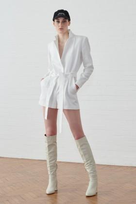 Jumpsuit corta bianca - IRO - Vendita Drexcode - 1