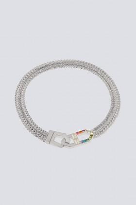 Collana con finiture argento - CA&LOU - Vendita Drexcode - 1