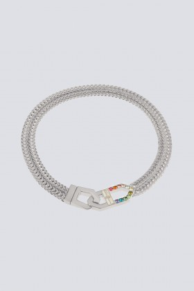 Collana con finiture argento - CA&LOU - Noleggio Drexcode - 1