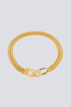 Collana con finiture oro giallo - CA&LOU - Noleggio Drexcode - 1