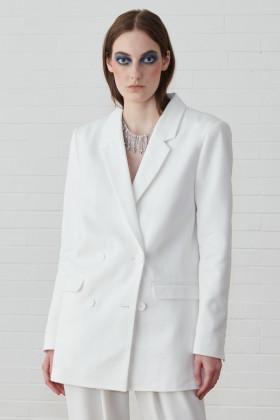 Giacca doppiopetto bianca - IRO - Noleggio Drexcode - 1