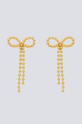 Maxi orecchini in ottone con finitura in oro giallo - CA&LOU - Vendita Drexcode - 1