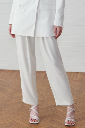 Pantalone bianco a vita alta - IRO - Noleggio Drexcode - 1