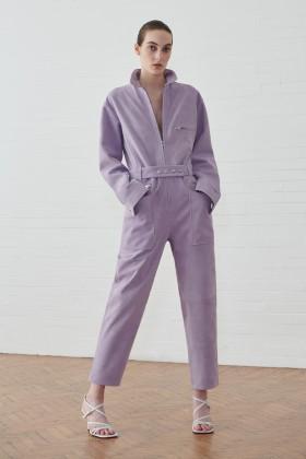 Jumpsuit lilla in suede - IRO - Noleggio Drexcode - 1