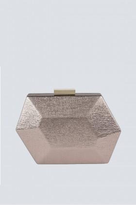 Clutch cipria geometrica - Anna Cecere - Noleggio Drexcode - 1