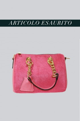 Mini bauletto in cavallino rosa - AM - Vendita Drexcode - 1