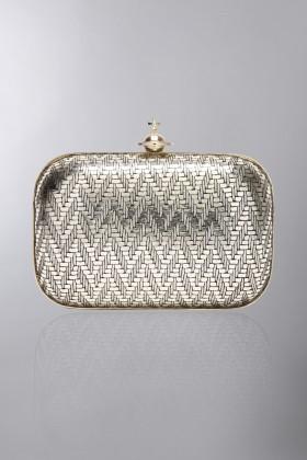 Clutch metallica oro - Vivienne Westwood - Noleggio Drexcode - 1