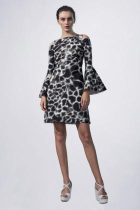 Abito con fantasia giraffa - Chiara Boni - Noleggio Drexcode - 1