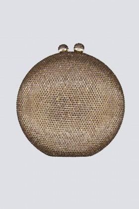 Clutch bronzo con pietre - Anna Cecere - Noleggio Drexcode - 1