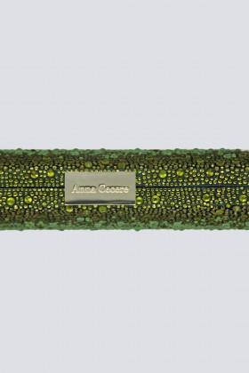 Clutch verde degrade con glitter - Anna Cecere - Noleggio Drexcode - 2