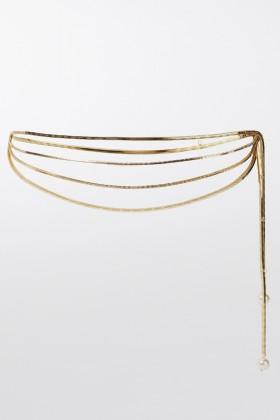Cintura con chiusura perla - Rosantica - Noleggio Drexcode - 1