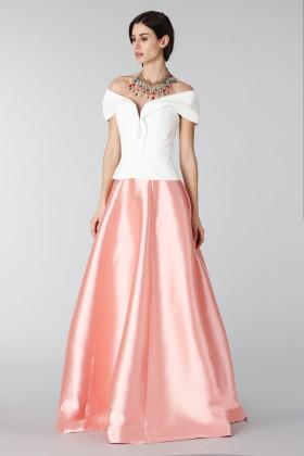Completo gonna rosa e top bianco - Tube Gallery - Vendita Drexcode - 2