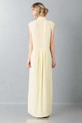 Tunica gialla con rouches - Albino - Noleggio Drexcode - 2