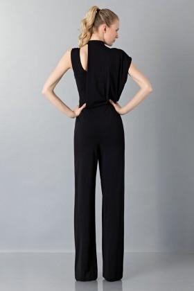 Jumpsuit nera con collo asimmetrico - Vionnet - Noleggio Drexcode - 2