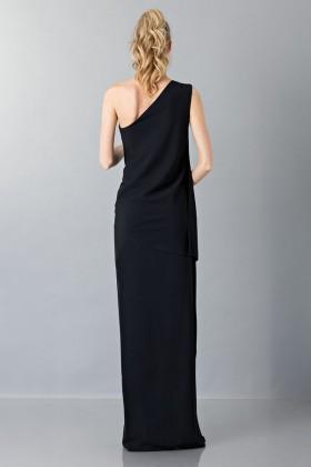 Vestito lungo monospalla nero - Vionnet - Noleggio Drexcode - 2