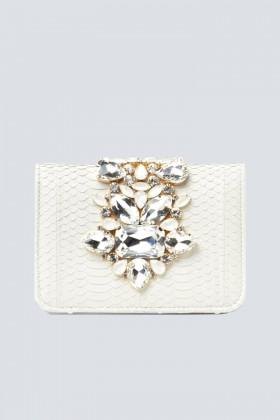 Clutch panna gioiello - Emanuela Caruso - Noleggio Drexcode - 1