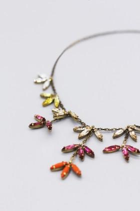 Collana con pendenti di cristallo colorati - Tataborello - Vendita Drexcode - 2