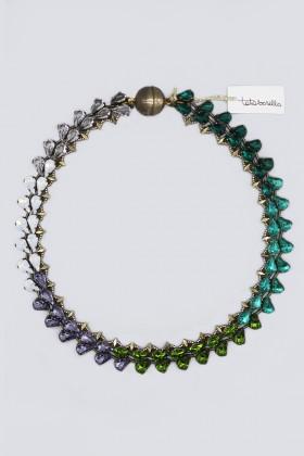 Collana con cristalli multicolori - Tataborello - Vendita Drexcode - 1