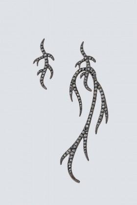 Orecchini gemelli a ramo - Federica Tosi - Noleggio Drexcode - 1