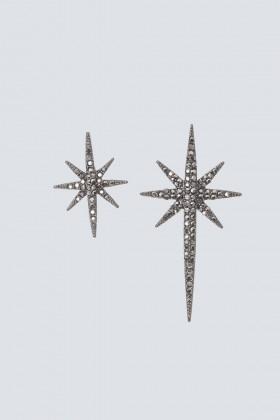 Orecchini gemelli a stella - Federica Tosi - Noleggio Drexcode - 1