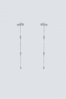 Pendenti argento lunghi con stelline - Federica Tosi - Noleggio Drexcode - 1