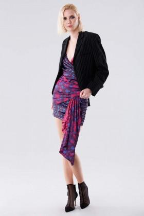 Mini dress con fantasia floreale - For Love and Lemons - Noleggio Drexcode - 2